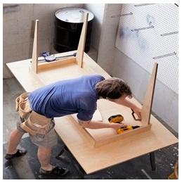 Сборка столов по низким ценам в Раменском от специалистов