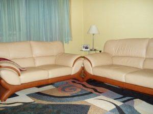 Перетяжка кожаной мебели в Раменском