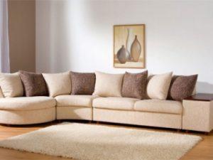 Перетяжка углового дивана на дому в Раменском